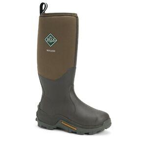 Muck Boots WET-998K Unisex Wetland Premium Hunting Boots CR Foam/Neoprene Mns 6