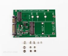 NEW Replacement NGFF M.2 B+M Key or mSATA SSD to SATA III 3 Adapter card