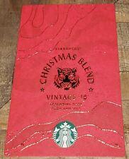 Starbucks Coffee TAIWAN Chinese Mandarin Advertisement Card