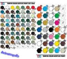 Tamiya Color X1 To X35 Gloss & XF1 To XF86 Acrylic Paint Model Kit Authentic UK