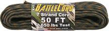 Arm BattleCord Woodland Camo Parachute Cord Camo 50 ft Length
