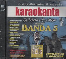 Banda MS Los Recoditos Lupilla Rivera Banda 5 2CDS Karaokanta Karaoke New Nuevo