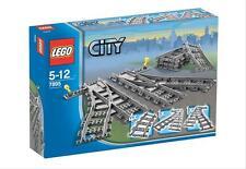LEGO TRAINS Set (7895) rendement GAUCHE ET DROITE ( 7897/7898/7938/7939 /3677