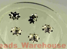 WHOLESALE * BEAD-CAPS 9mm x 980pcs CCB Spacer Beads