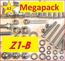 Kawasaki Z1-B - Nut + Bolt + Screw + Washer A2 Grade Stainless MegaPack