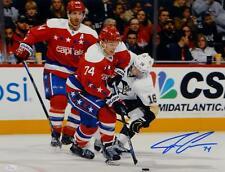 John Carlson Signed Washington Capitals 16x20 Against Penguins Photo- JSA W  Auth 61b3e0766