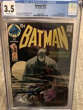 Batman #227 CGC 3.5 DC COMICS NEAL ADAMS ROBIN CLASSIC COVER