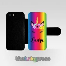 Étuis, housses et coques multicolores en cuir pour téléphone mobile et assistant personnel (PDA) Apple