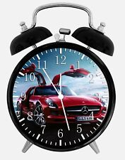 "Super Car SLS Alarm Desk Clock 3.75"" Home or Office Decor W324 Nice For Gift"