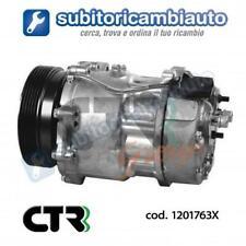 COMPRESSORE CLIMATIZZATORE 7V16 AUDI SEAT SKODA VW PV6 120mm 12v CTR 1201763X