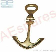 NEW VINTAGE BRASS ANCHOR SHAPE OPENER NAUTICAL DECOR PAPER WEIGHT