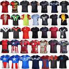Men Short Sleeve T-Shirts Jersey Tops Compression Shirt Marvel Superhero Costume