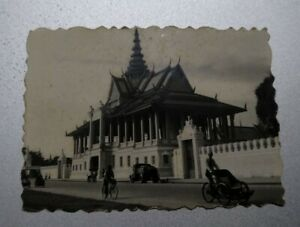 1959 vintage photo - Thailand Royal Palace City 泰国皇城