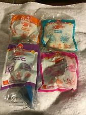 """1999 McDonald's  """"Extreme Sports"""" - complete set of 4 toys- McCharacters MIP- NZ"""