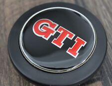 VW GTI Badge Horn Button Fits MOMO Raid Steering wheel  Mk1 Mk2 Mk3 Mk4 Golf