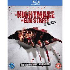 A Nightmare On Elm Street 1-7 - Box Set (5 Discs) - New Blu-Ray
