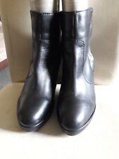 H & M black ankle boots