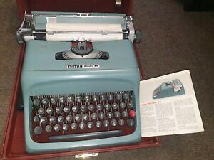 Olivetti Studio 44 Typewriter