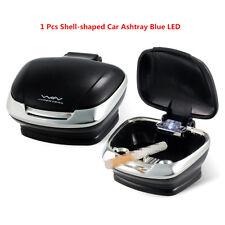 2xCar Shell Shape Blue Led Smokeless Ashtray Travel Auto Cigarette Smoke Remover