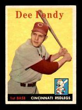 1958 Topps #157 DEE FONDY EX *1e