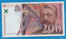 Gertbrolen  200 Francs EIFFEL Type 1996 Billet N013175295