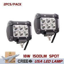 2X Led Work Light Bar Spot Beam SUV Driving Lamp 4*4WD 4X4 12V 24V Jeep Boat