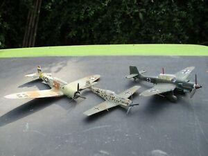 Airfix   Military   Built  planes  lot  1.72   Stuka bomber