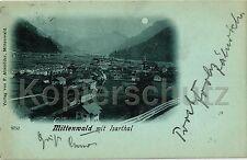Mondscheinkarten aus Bayern vor 1914
