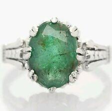 Emerald Sterling Silver Fine Jewellery