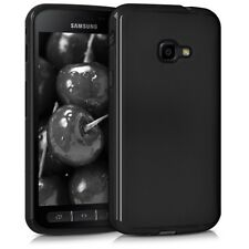 Custodia Cover Case Matt per Samsung Galaxy Xcover 4 G390 G390F in Silicone Nera