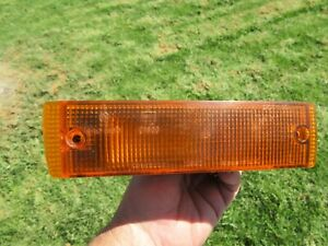 1993.5 to 1996 Jaguar XJS LEFT front bumper turn signal light lens blinker JP