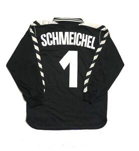 Men hummel Denmark GK 2002 #1 SCHMEICHEL Maillot Soccer Football Goal Keeper