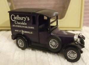 "MATCHBOX YESTERYEAR MODEL ** 1927 ""CADBURYS CHOCOLATE"" VAN **  NEW - Y5- CODE 2"
