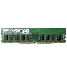 Samsung 16GB PC4-21300E DDR4-2666MHz 288Pin 1.2v ECC Unbuffered Server Memory