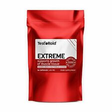 TESTOROID EXTREME TESTOSTERONE BOOSTER STRONGEST LEGAL ANABOLIC MUSCLE BUILDER