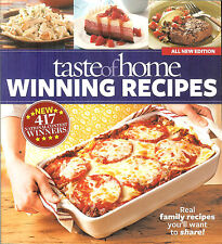 Taste of Home Winning Recipes - 417 National Contest Winner Recipes, NEW PB