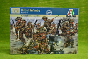 British Infantry WWII 1/72 Scale Italeri Kit 6056