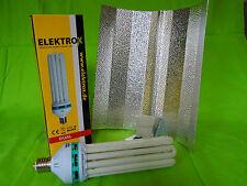 Elektrox Sparset 200 W Dual Energiesparlampe + Reflektor ESL CFL Set 2100K