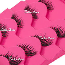 Makeup 5 pairs lot Half Mini Corner Winged False eyelashes Cute Eye Lashes Set