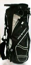 Lqqk! Htz Sport Black/White Plus Carry/Stand Golf Bag