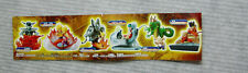 NEW Bandai 2003 Gashapon HGIF Dragonball Z Imagination Part 1 Complete set of 6