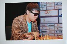 Gm Wesley tan signed 20x30cm foto autógrafo Autograph ip6 Grandmaster Chess