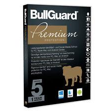 Bullguard Premium Protection 2018 - 5 Geräte - 1- Jahr  -