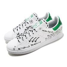 Adidas Originals Stan Smith Graffiti Blanco Verde para hombres y mujeres Unisex Clásico GV9800