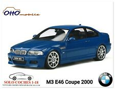 1:18 BMW M3 E46 Coupé año 2000 color Azul Laguna Seca Otto Mobile OT880