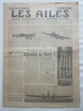 AILES 1931 545 SPCA KLM FOKKER AMSTERDAM BATAVIA BAMAKO COMPRESSEUR SAN SALVADOR
