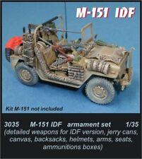 CMK Czech Master M-151 IDF Armament Set 1/35 scale resin kit 3035