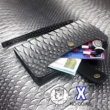 Samsung Galaxy Note 9 Wallet Case Leather Flip Cover Card Slots Crocodile Gray