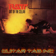 Ratt Digital Guitar Tab OUT OF THE CELLAR Lessons on Disc Crosby DeMartini