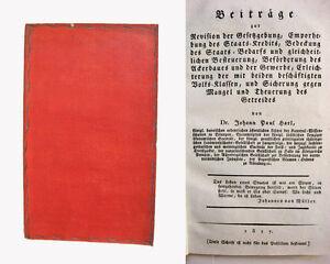 Johann Paul Harl - Beiträge zur Revision der Gesetzgebung - 1817